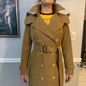 Brand new Burberry camel trench coat